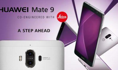 HUAWEI MATE 9 จัดเต็มจอ 5.9 นิ้ว มีกล้องคู่จาก LEICA