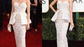 ปูไปรยา สวยออร่าจับในงาน 74th Annual Golden Globe Awards
